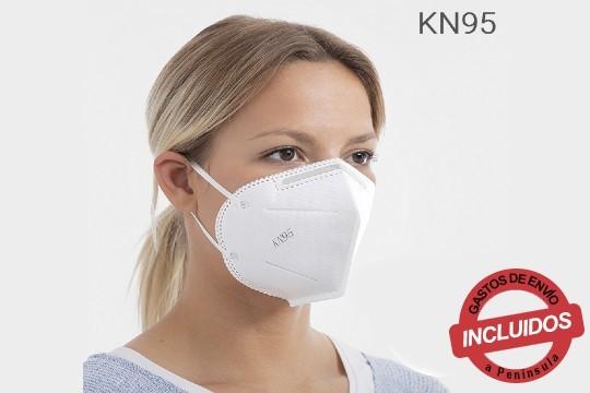 Mascarillas protectoras KN95 FFP2 perfectas para proteger tu salud de virus, de contaminación atmosférica, polvo, alergias estacionales, humoy mucho más ¡Aprovecha el kit de 50 0 100 unidades!