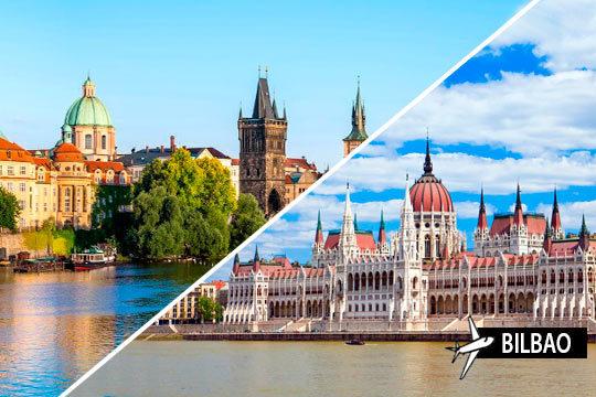 Disfruta de un combinado por las preciosas ciudades de Budapest y Praga ¡7 noches en régimen de alojamiento y desayuno o Todo Incluido!