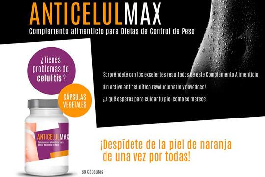 Olvídate de la celulitis y luce cuerpo con Antcelul Max ¡Con envío incluido!
