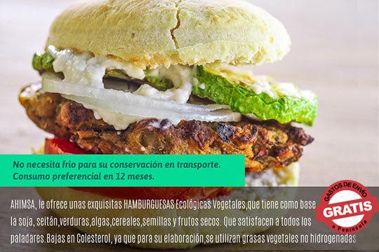 Cuídate y come sano con estas exquisitas hamburguesas ecológicas y veganas ¡3 variedades para platos exquisitos!