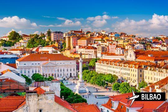 Un viaje de lujo a Lisboa que incluye vuelo desde Bilbao y 3 noches con desayuno ¡Conoce Portugal!