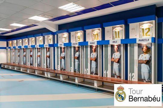 ¡Si eres un fan de verdad tienes que visitar el Estadio Santiago Bernabéu sin falta! Aprovecha este Tour para niños o adultos con posibilidad de hacerlo con audioguía