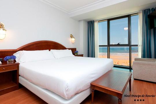 Escápate a Gijón y disfruta de una noche con desayuno de lujo en el hotel Príncipe de Asturias 4* ¡Desconecta en Asturias!