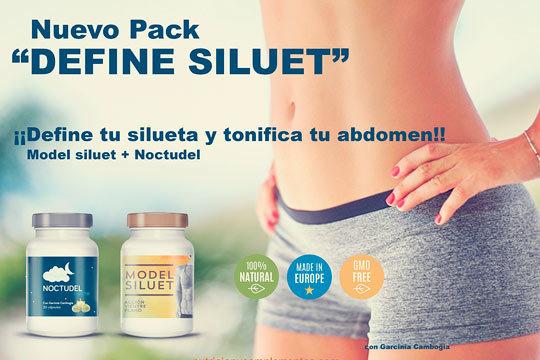 Con el nuevo pack Define Siluet podrás presumir de vientre plano y tonificado ¡Formulado con probióticos y fibras bifidogénicas!