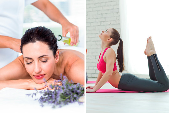 Elimina el estrés diario con un masaje personalizado y prueba una clase de pilates en Kuida Asistencia Personalizada ¡Bueno para cuerpo y mente!