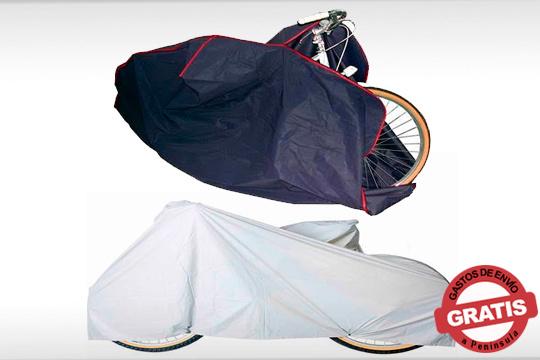 Ten siempre tu bicicleta o motocicleta en perfecto estado gracias a estas prácticas fundas ¡2 modelos para elegir!