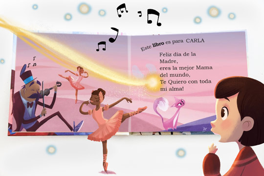 Crea tu propio libro personalizado con ilustraciones de alta calidad y papel ecológico ¡Momentos mágicos para compartir en familia!
