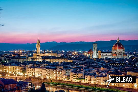 En agosto recorre los bellos parajes de Italia: Florencia, Pisa, Padua, Verona, Venecia... ¡7 noches con salida desde Bilbao!