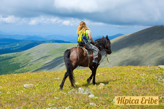 Disfruta de la naturaleza con este paseo a caballo de 1 hora y media de duración en Hípica Eribe ¡Cabalga por el Gorbea!
