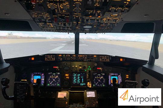 ¡Coge las riendas de un avión en modo profesional o combate! Airpoint pone a tu disposición su simulador con instructor incluido en Madrid