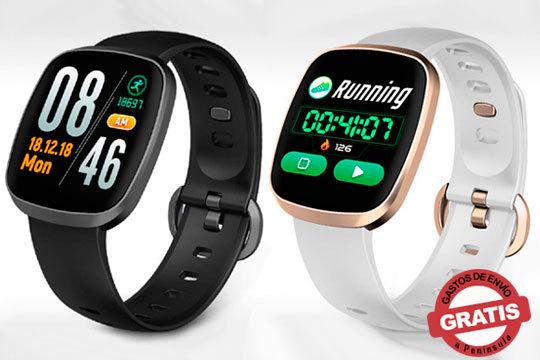 El smartwatch Tend controla tu ritmo cardíaco, ciclo del sueño, presión arterial y mucho más ¡Elige entre el color blanco o negro!