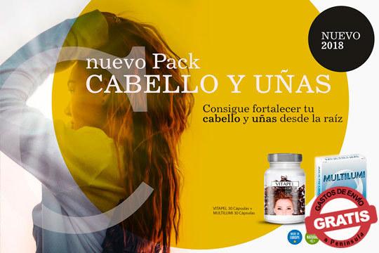 Fortalece tu pelo y uñas con estos packs de Vitapel y Multilumi ¡Ingredientes naturales para cuidar de ti!