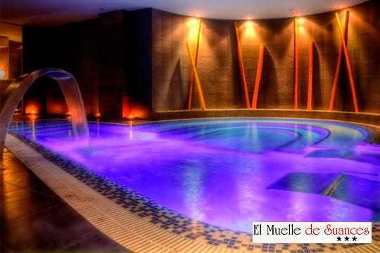 Circuito Spa en el Hotel Muelle de Suances con sauna húmeda y seca, ducha bitérmica, fuente de hielo... ¡Desconecta del mundo!