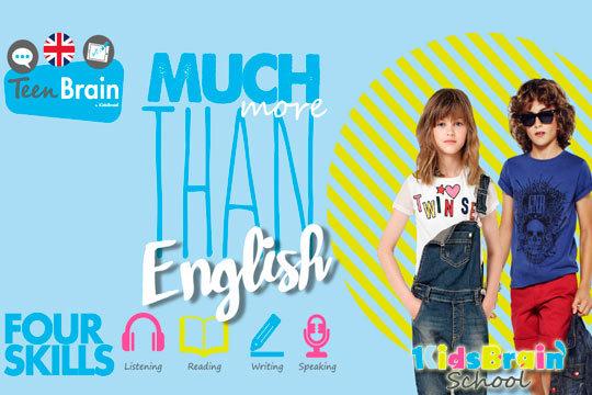 Ayuda a que tus hijos mejoren su nivel de inglés gracias a 4 meses de divertidas clases en Kidsbrain School ¡Nivel A2 de Cambridge!