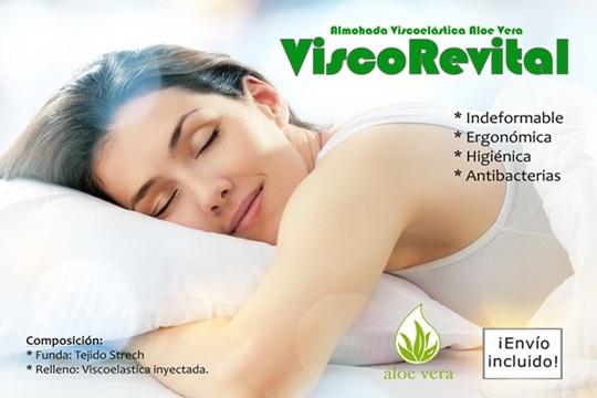 Descubre el verdadero descanso coneste par de almohadas viscoelásticas ¡Envío incluido!