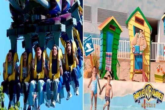 Pasa unos días mágicos en el Parque Warner de Madrid y la Warner Beach ¡Pura diversión para toda la familia!