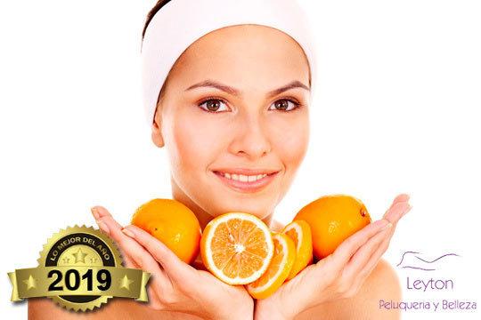 Revitaliza tu cutis con este exclusivo tratamiento de vitamina C en Leyton ¡Incluye limpieza facial completa!