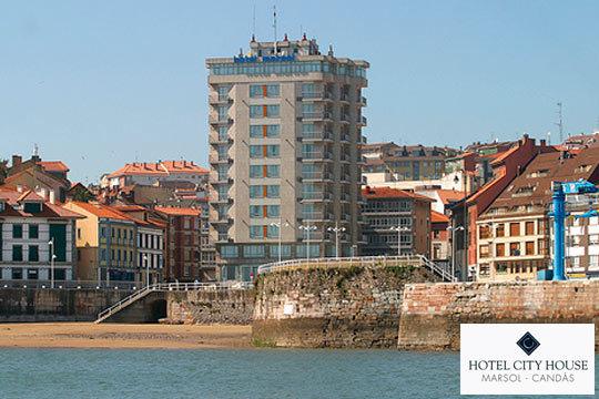 Disfruta de una escapada romántica con 1 o 2 noches en Candas, en el fabuloso Hotel City House Marsol ¡Un hotel de lujo a 1 minuto de la playa!