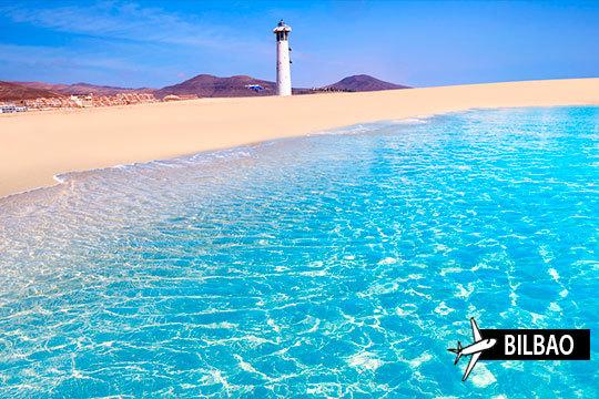 ¡Vacaciones una semana en Fuerteventura! Estancia en hotel 4* con media pensión y vuelo desde Bilbao
