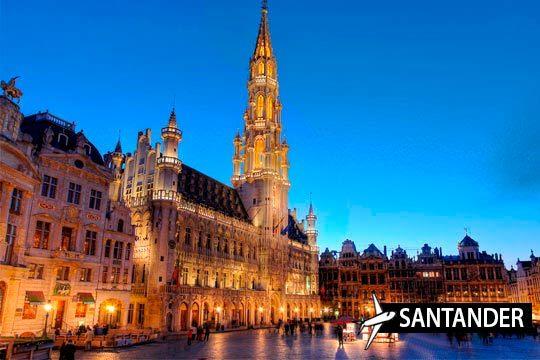 ¡En noviembre descubre Bruselas! Vuelo desde Santander + 3 noches + visitas a Brujas y Gante