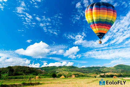 ¡Experiencia irrepetible surcando los cielos de Segovia, Toledo, Ávila, Aranjuez, Astorga y Madrid! Con Eolofly vuelo en globo + picnic + cava y vídeo de la actividad