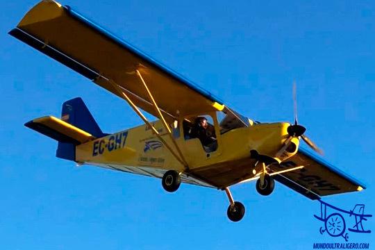 Si siempre quisiste volar en un avión ultraligero ¡esta es tu oportunidad! Vuelo de 30, 60 o 90 minutos de la mano de Mundo ultraligero