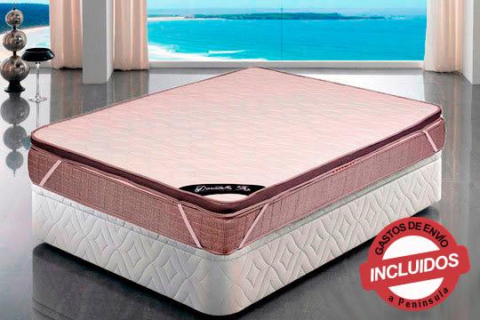 Prueba a poner el Topper viscoelástico soft 3D effect encima de tu colchón actual y notarás la diferencia en tus noches ¡Dulces sueños!