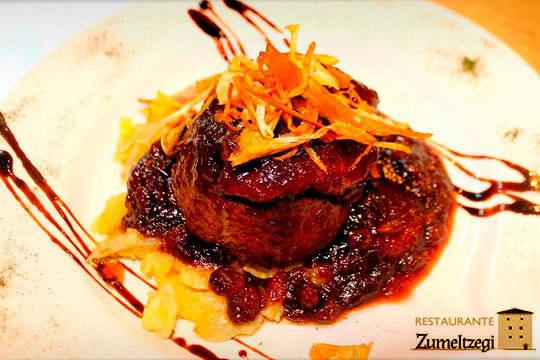 Menú de lujo en el Restaurante Zumeltzegi ¡5 platos de gran calidad sustentados en la cocina vasca de corte tradicional!