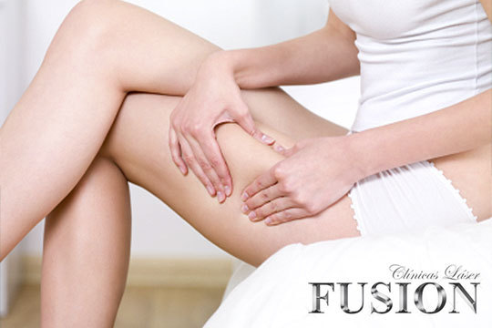 ¡Luce un figura esbelta gracias al tratamiento reductor de la Clínica Láser Fusión! Combinación de potentes sistemas de eliminación de grasa para un resultado sorprendente