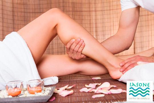 Cuida tus piernas con este masaje circuilatorio en el Centro de Estética Iasone ¡Elige entre 1 o 2 sesiones!