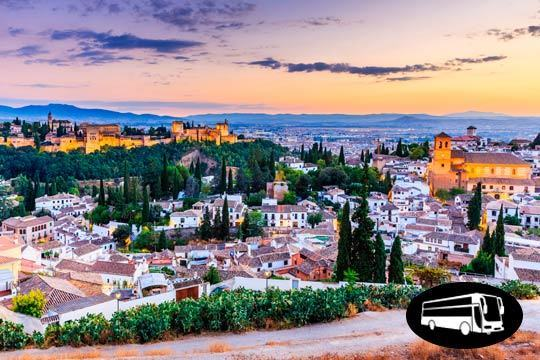 ¡Descubre la maravillosa herencia cultural de Granada! No te pierdas el circuito de Semana Santa ¡Con salida desde Bilbao, Vitoria, Donosti, Pamplona o Logroño!