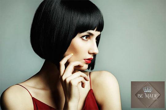 Ses. de peluquería con trat. regenerador + manicura semipermanente