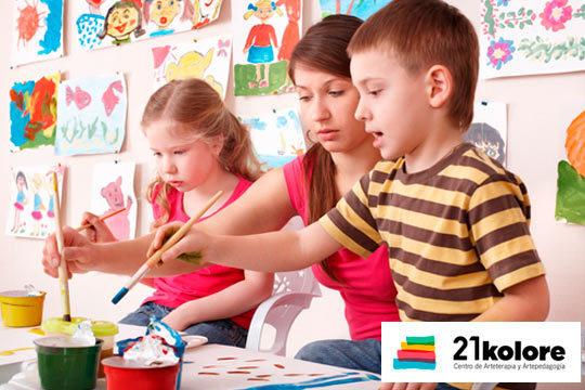 ¡Colonias de Inglés o alemán para niños de entre 3 y 17 años en verano! Talleres de arcilla, pintura creativa, máscaras, juegos comunicactivos...