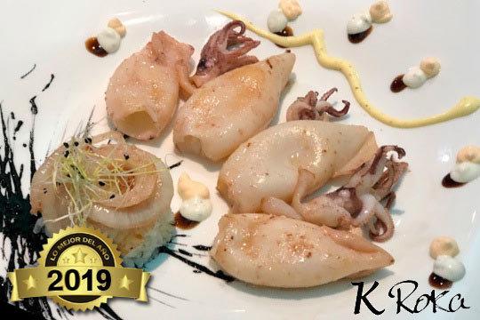 ¡Menú degustación en K Roka! 6 platos con presa ibérica y chipis