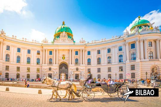 Disfruta de una visita a la imponente ciudad de Viena: Una ciudad llena de música e historia para que disfrutes durante 3 noches con vuelo desde Bilbao