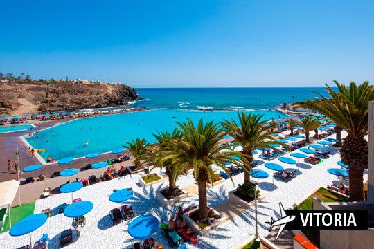 ¡Disfruta de Tenerife Sur en Todo Incluido! Vuelo desde Vitoria y 7 noches en un hotel con todas las comodidades
