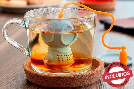 Divertidos infusores con forma de buzo para tus bebidas de invierno ¡Prepara las mejores infusiones!