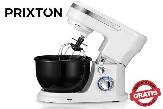 Evoluciona tus postres con la Batidora Amasadora con bol de Prixton ¡Una máquina para todo: amasar, batir, mezclar, montar y emulsionar!