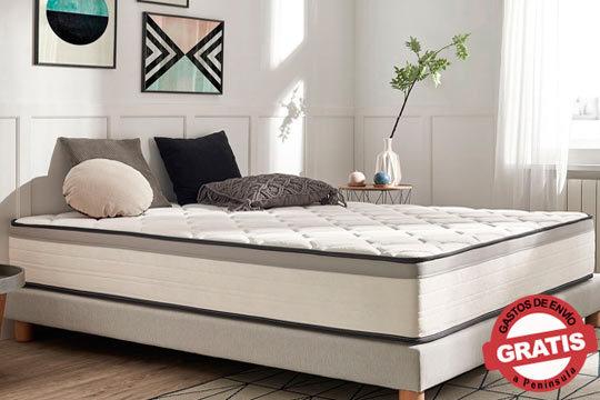 Siente lo que es el descanso perfecto con el Colchón Gran Hotel Lux Edition ¡Alta adaptabilidad y gran confort!