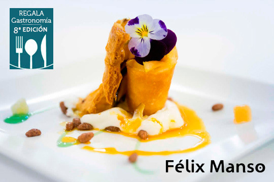 Exquisito menú de temporada de la mano de Félix Manso