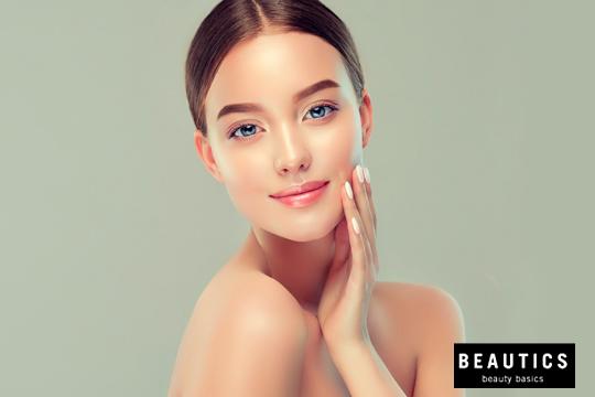 Quítate años de encima con un peeling facial enzimático +  tratamiento de alginato revitalizante en Beautics + manicura completa con esmaltado de color ¡Notarás la diferencia!