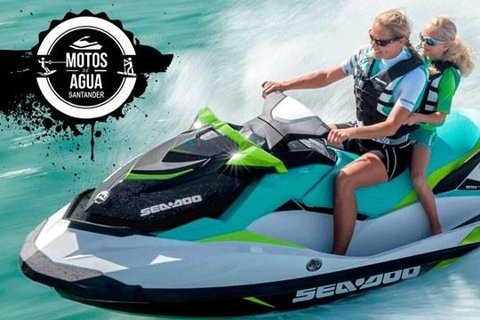Vive una extraordinaria experiencia sobre el mar, con las rutas guiadas en moto de agua para 1 ó 2 personas ¡Con monitor y fotos en trayecto incluídas!