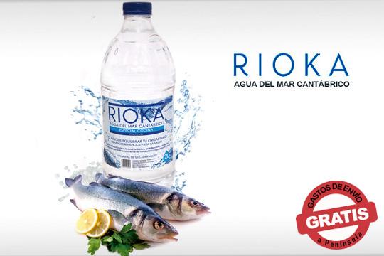Sustituye la sal común de tus recetas por Agua de Mar Hipertónica de Rioka ¡Un condimento natural más saludable y que mejora el sabor de los alimentos!