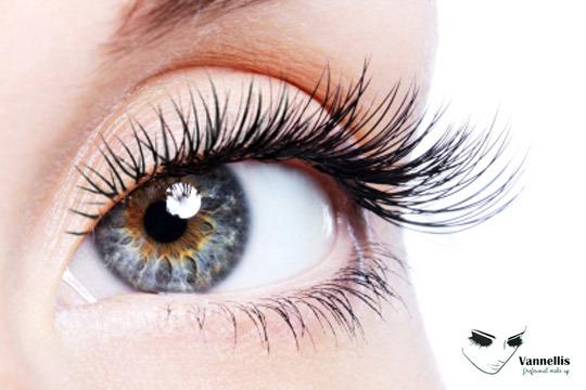 ¡Presume de una mirada de impacto! Permanente y tinte de pestañas en Vannellis Professional Make Up