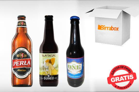 Prueba unas fabulosas cervezas artesanas con Birrabox ¡Incluye las cervezas 'Perla Mocna', 'Blat de sac' y 'The one american pale'!
