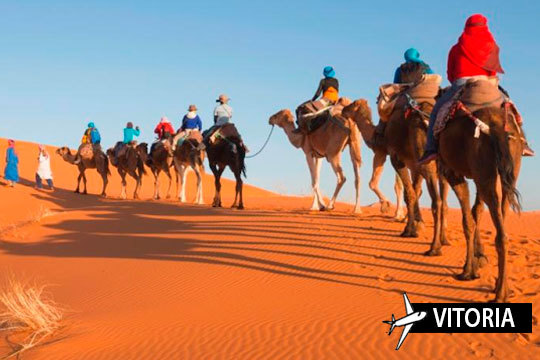 ¡Pon rumbo a Marrakech en Semana Santa! Estancia de 5 noches con desayunos + vuelo directo desde Vitoria