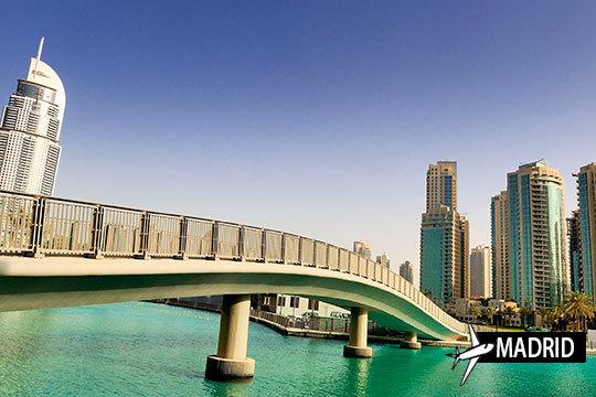 ¡Dubai, una de las ciudades más ricas del mundo, te reclama en Semana Santa! Estancia de 4 noches con desayunos en lujosos hoteles de 4 o 5*