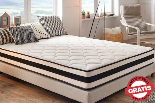 Consigue un mejor  descanso con este colchón Supremium, que no posee puntos de presión ¡Diferentes medidas para que elijas la tuya!