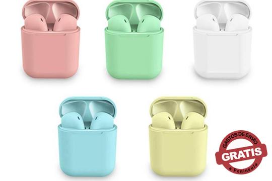Escucha mejor con estos auriculares inalámbricos bluetooth 5.0. ¡Adquierelo en cualquiera de tus colores favoritos!