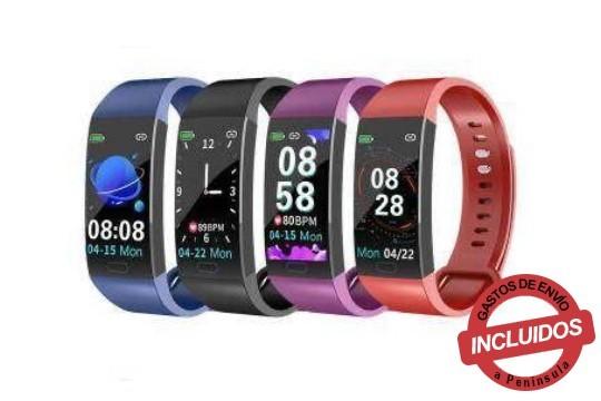 Monitorea tu actividad física diaria con la nueva pulsera deportiva de actividad modeloSD-811, podrás elegir entre cuatro colores: azul, negro, morado y rojo ¡También notifica llamadas y mensajes!